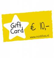 Noddles cadeaukaart € 10