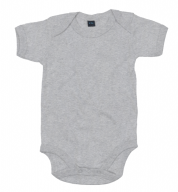 Grijs mêlee romper - Basic body Grey