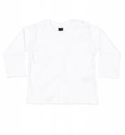 Wit T-shirt lange mouw