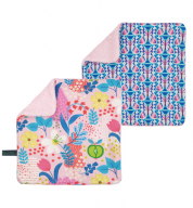 COMBI DEAL! monddoekjes Field of Flowers en Blooming Butterfly