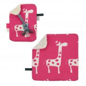 COMBI DEAL! monddoekje en speendoekje Joyfull Giraffes