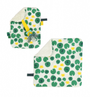 COMBI DEAL! monddoekje en speendoekje met lelies - Leaves & Lilies