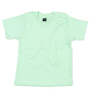 Mint groen T-shirt korte mouw - Basic T-shirt Mint