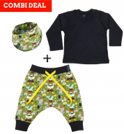COMBI DEAL! Silly Circus en BASIC T-shirt Black