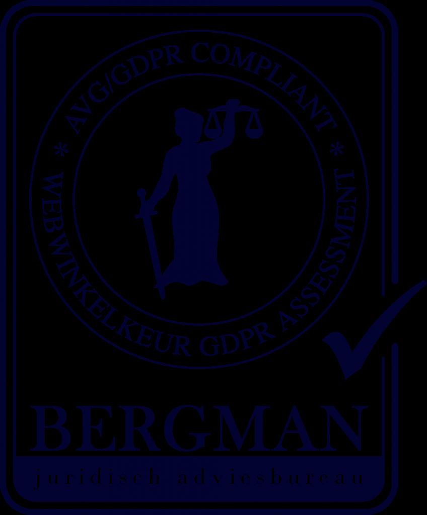 Bergman AVG keurmerk logo