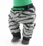 Joggingbroek met zebra strepen