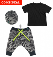 COMBI DEAL! Mystic Meadows en BASIC T-shirt Black