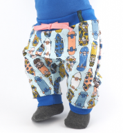 Joggingbroek met skateboards