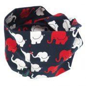 Infinity sjaal met olifanten – Trumpet Parade