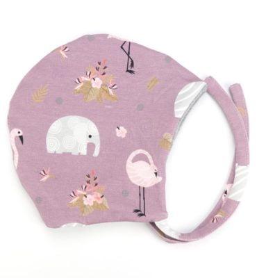 Muts met flamingo's en olifanten - Fancy Flamingo