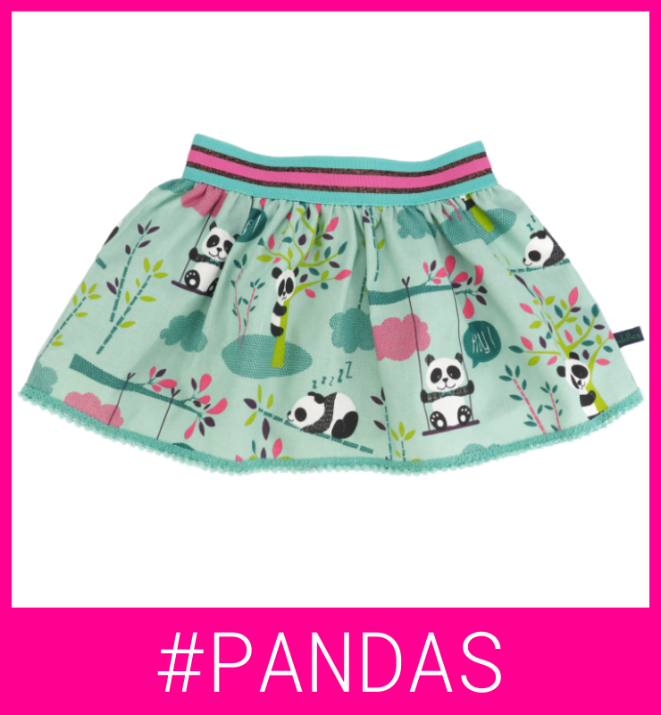 Rokje met panda's