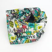 Infinity sjaal met graffiti monsters – Street Smart