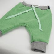 Dikke winterbroek in groen met fleece