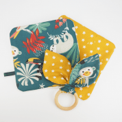 Baby cadeaupakket in jungle print - Lazy Jungle