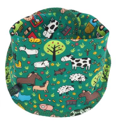 Sjaaltje met boerderij print
