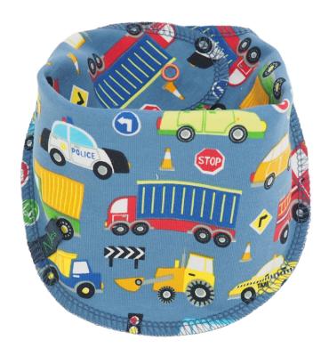 Sjaaltje met vrachtwagens en auto's