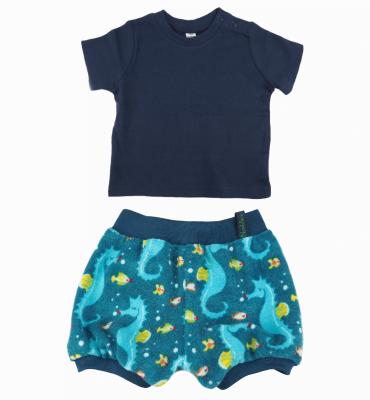 Kort broekje met zeepaardjes - Bloomer Seahorse Special
