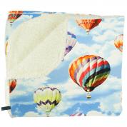 Knuffeldeken met luchtballonnen