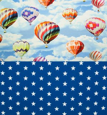 Boxkleed met luchtballonnen