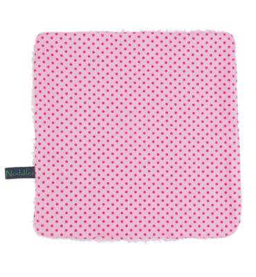 Monddoekje met roze stipjes - Spuugdoekje Pink Dots