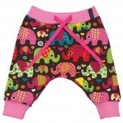 Broekje met olifanten - Loving Elephants Pink