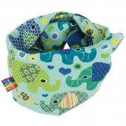 Mint infinity sjaal met olifanten – Loving Elephants