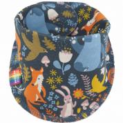 Sjaaltje met herfstdieren