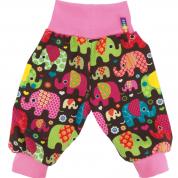 Meegroeibroekje met olifanten - Loving Elephants Pink